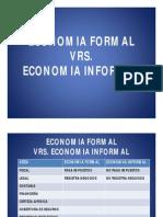 Economia Formal y Economia Informal