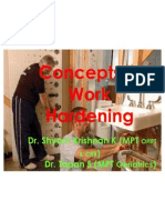 Concepts in Work Hardening