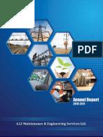 a2z Annual Report 2010 11