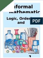 Informal Maths Gr1 m1