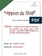Rapport de Stage ELIDRYSY
