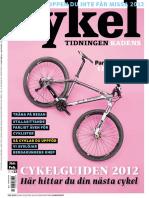 Cykeltidningen Kadens # 1, 2012