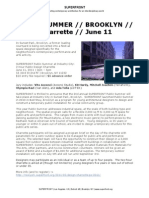 Public Summer Program Handout 2011