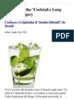Cocktail e Long drink « peppinomanzi