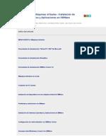 MONOGRÁFICO Máquinas virtuales - Instalación de Sistemas Operativos y Aplicaciones en VMWare