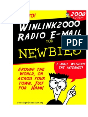 Winlink for Dummies | Windows 2000 | Email