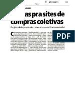 Compras coletivas on line jornal Meia Hora