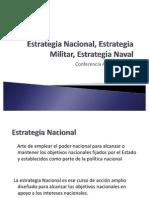 Estrategia Nacional, Estrategia Militar, Estrategia Naval