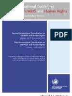 Intern Guidelines High Comm HR HIV