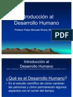 Introducción al Desarrollo Humano