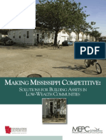 Making Mississippi Competitive- Solutions for Building Assets in Low-Wealth Communities