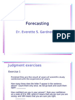 1 Forecasting
