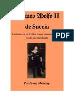 Gustavo Adolfo II, Por Franz Mehring, traducción Julio Fernández Baraibar