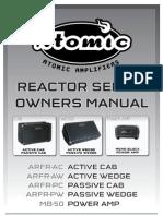 Reactor Series Manual