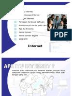 Bahan Presentasi Internet