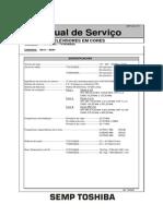 Manual Servico Tv Toshiba Tv2134
