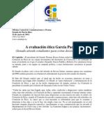 A Evaluacion Etica Garcia Padilla