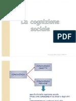 9. La Cognizione Sociale