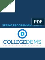 Spring Programs Guide
