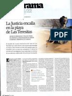 La Justicia Encalla en La Playa de Las Teresitas