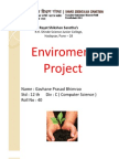 Environment Project for HSC