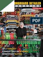AXS Longboard Retailer Magazine Winter 2011