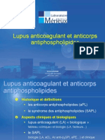 Diaporama Lupus Anticoagulant