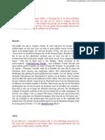 Reacties op brief OVO