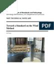 Toward a Standard WT