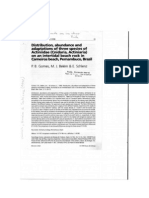 [Artigo] GOMES et al [1998] Distribuição Adaptação Anemona Pernambuco
