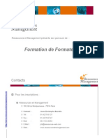 Formation Formateurs