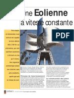 Plan Eolienne Verticale