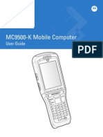 MC9500K User Manual From Barcode Datalink 11850101a