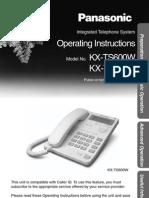Manual Telefono!!! KXTS600B
