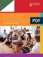 Graduate Diploma in Education and Postgraduate Education 2012 Handbook
