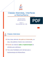 Aula02 ClassesAbstratas Interfaces e Polimorfismo