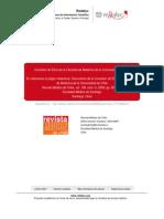 Comisión de Etica de la Facultad de Medicina de la universidad de Chile Sobre plagio