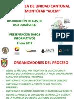 Presentación Distribución Gas Aucm 2012