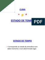 CLIMA- INTRODUÇÃO