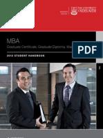 MBA 2012 Handbook