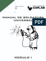 Manual de soldadura Universal Modulo I
