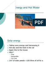 Passive House and Solar Hot Water