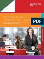 Undergraduate Teaching 2012 Handbook