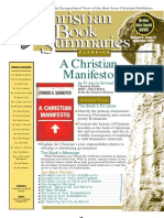 A Christian Manifesto by Francis Schaeffer