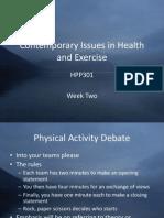 HPP301 Week Two Slides