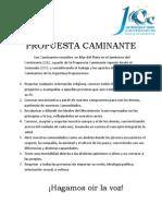 Propuesta Caminante 2012 - Scouts de Argentina
