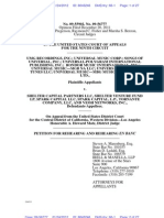 UMG Petition for Rehearing en Banc in UMG v. Shelter Capital
