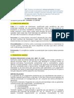 Resumo de Direito Processual Civil - Sinopses jurídica 2010