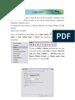 Criando Poligonal por Azimute e Distância - ArcGIS 9.2