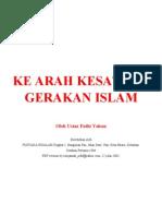 Ke Arah Kesatuan Gerakan Islam